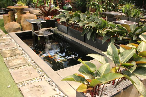 koi pond design Malaysia